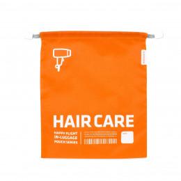 Housse de voyage orange pour sèche cheveux