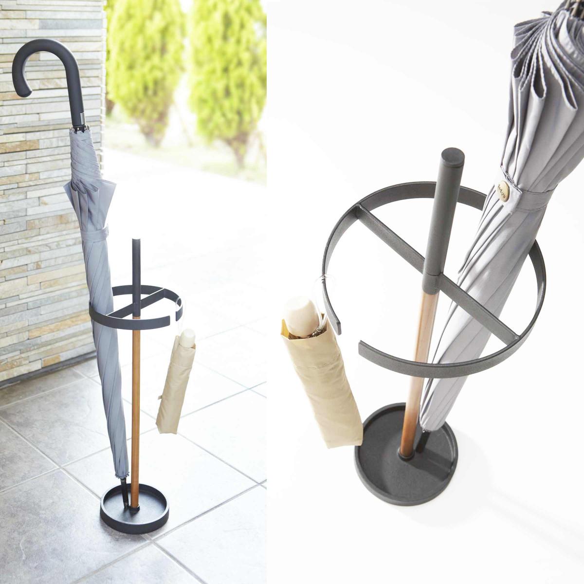 porte parapluie design noir rangement entr e. Black Bedroom Furniture Sets. Home Design Ideas
