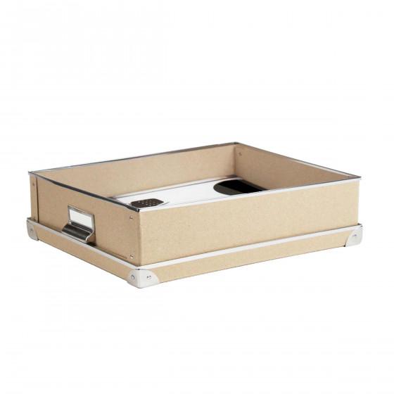 bo te de rangement a4 en carton kraft. Black Bedroom Furniture Sets. Home Design Ideas