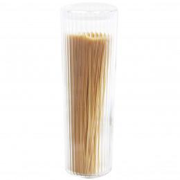 Bocal pour pâtes en plastique cannelé. Taille L
