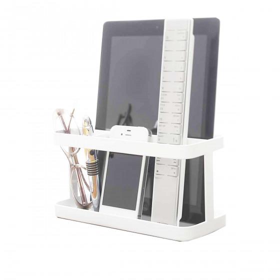 vide poche design blanc rangement portables tablettes. Black Bedroom Furniture Sets. Home Design Ideas