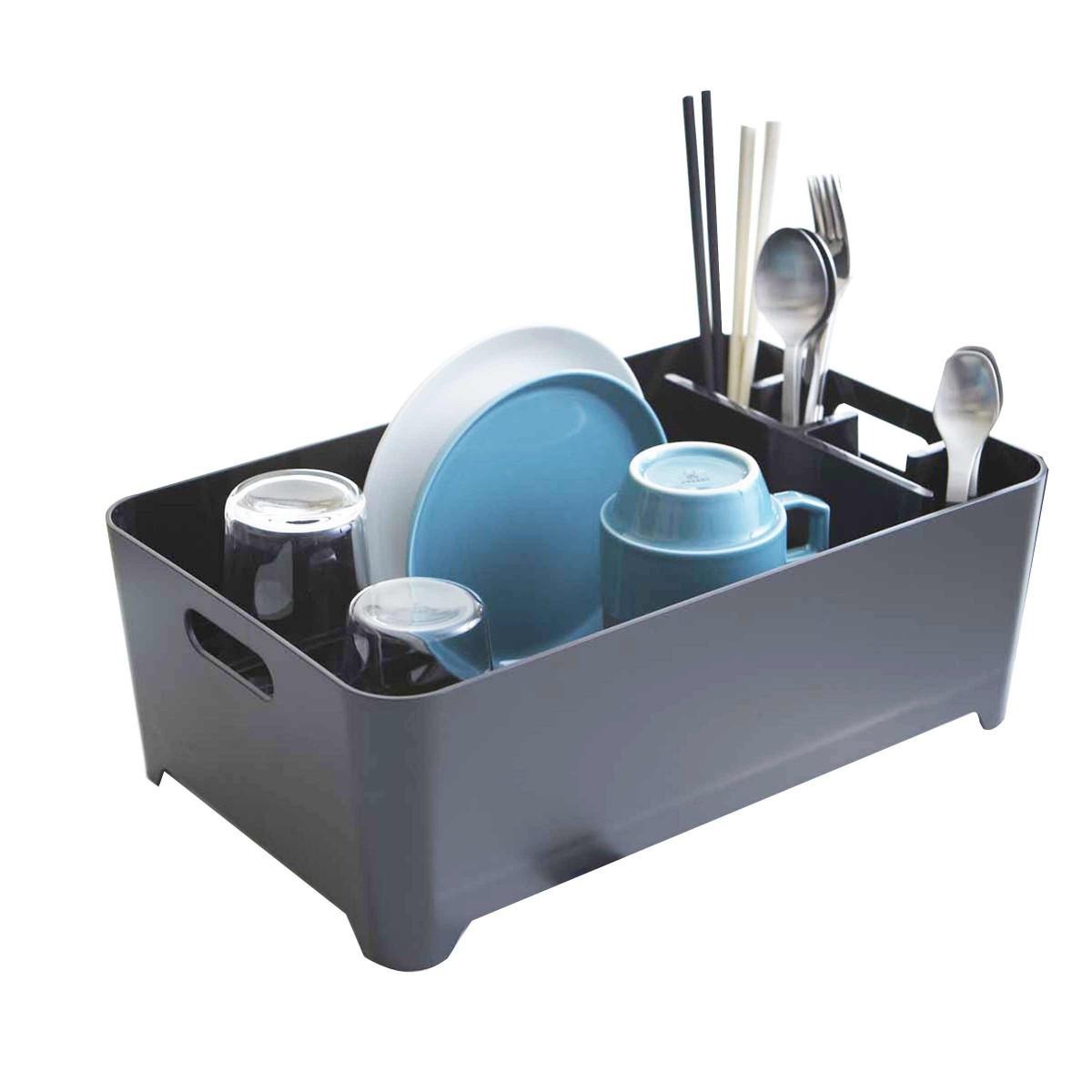 egouttoir design noir autour de l 39 vier rangement cuisine. Black Bedroom Furniture Sets. Home Design Ideas