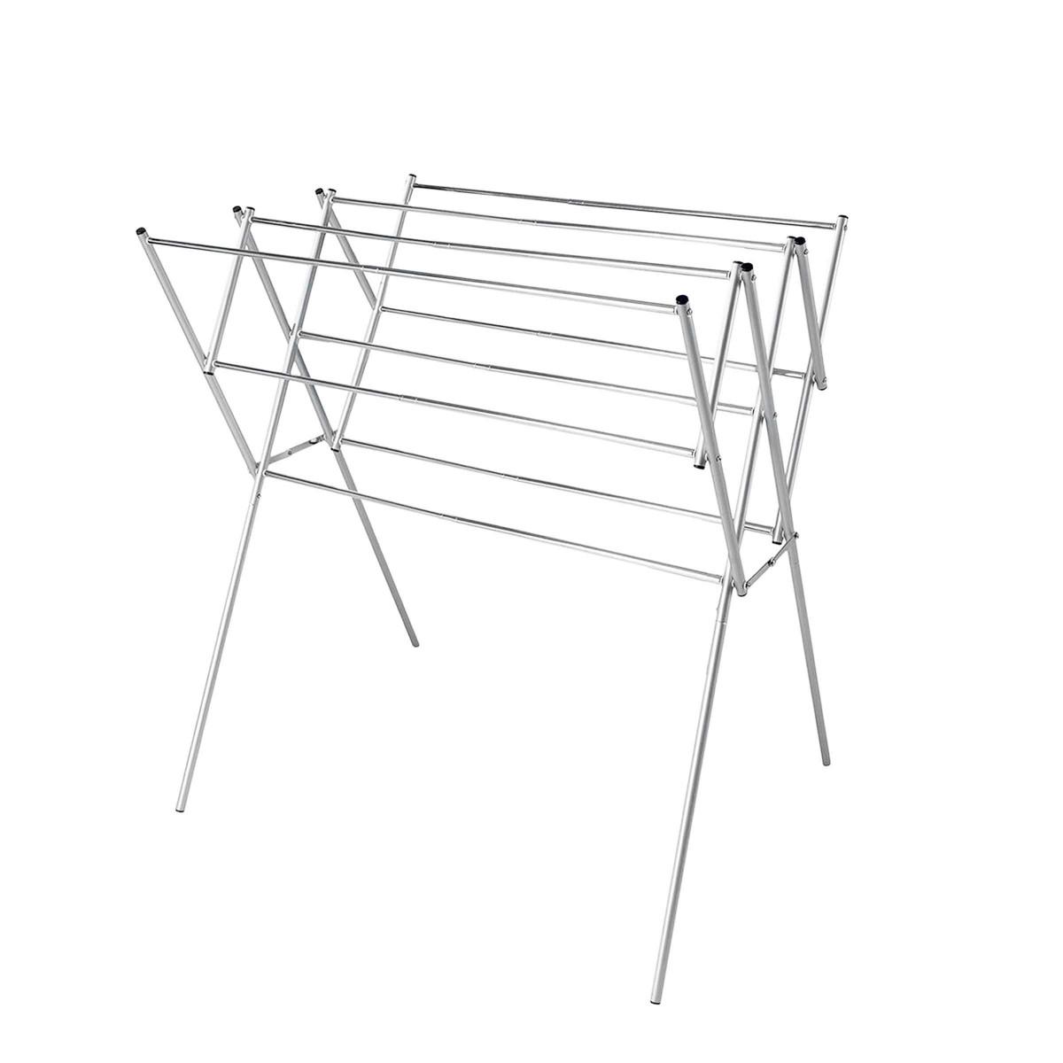 s choir linge en acier inoxydable extensible et sur pieds. Black Bedroom Furniture Sets. Home Design Ideas
