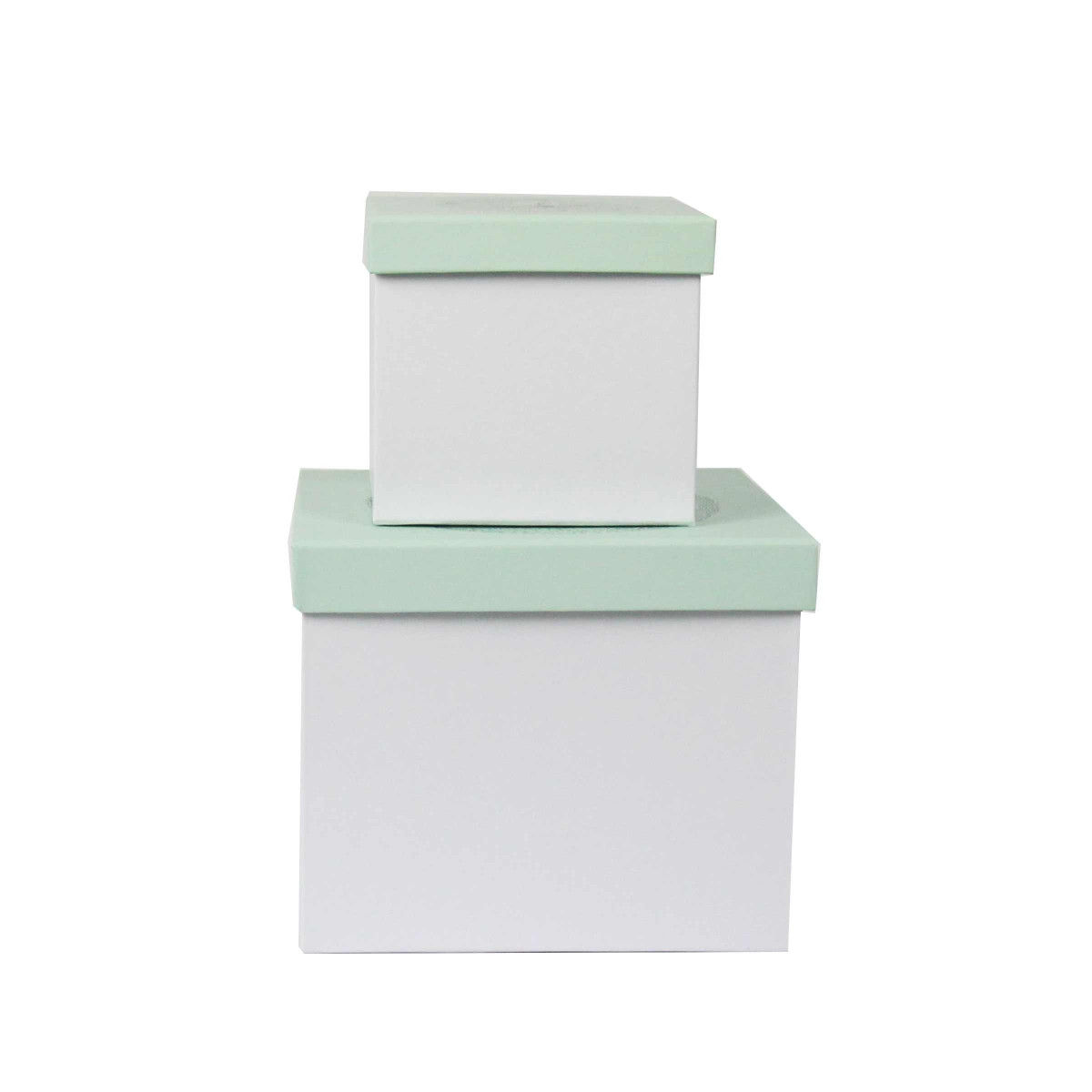 bo tes en carton vert d 39 eau rangement chambre d 39 enfant. Black Bedroom Furniture Sets. Home Design Ideas