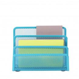 Porte Lettres En Maille Métallique Bleu Turquoise