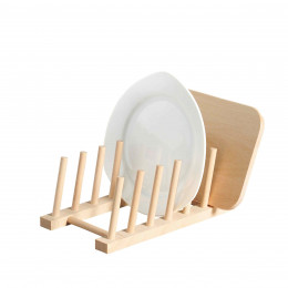 Range-couvercles en bois