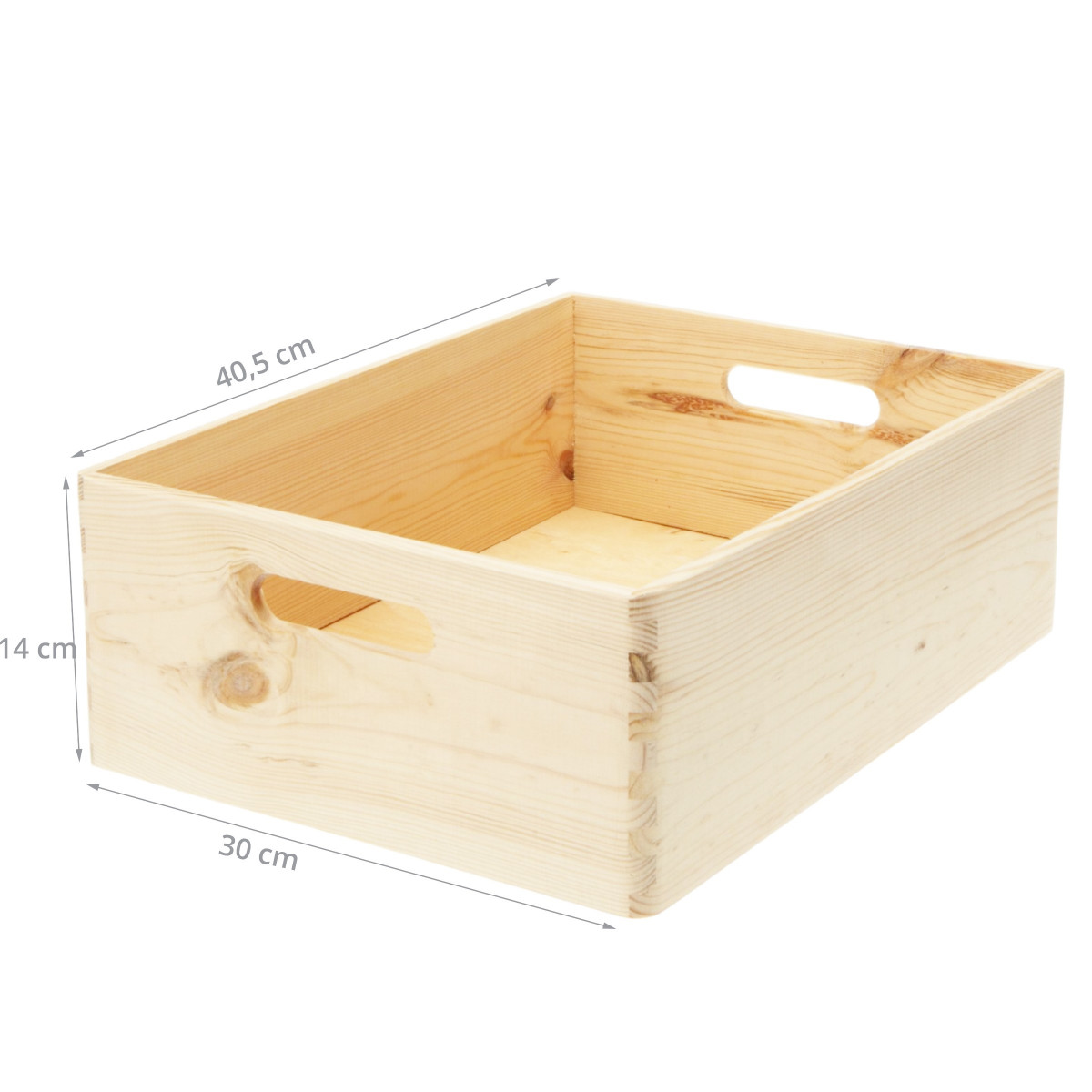 Caisse de rangement cuisine en bois - Caisse de rangement bois ...