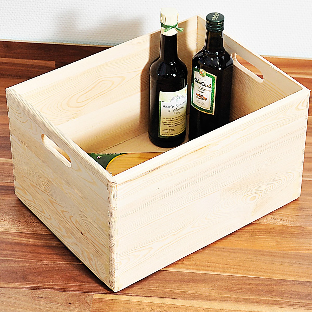 caisse en bois rangement cuisine. Black Bedroom Furniture Sets. Home Design Ideas