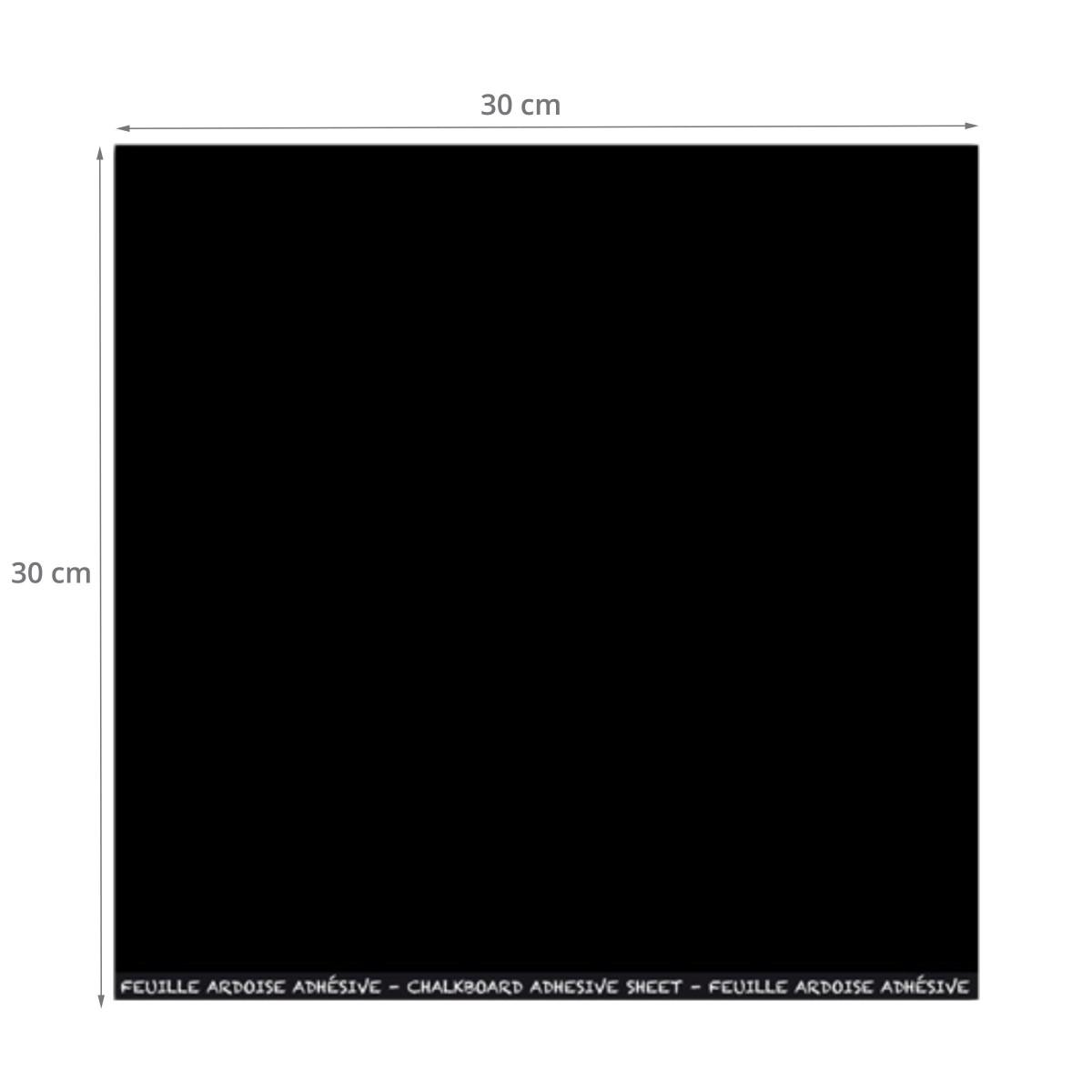 feuille ardoise adh sive carr e. Black Bedroom Furniture Sets. Home Design Ideas
