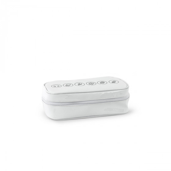 Trousse à câbles en pvc blanc