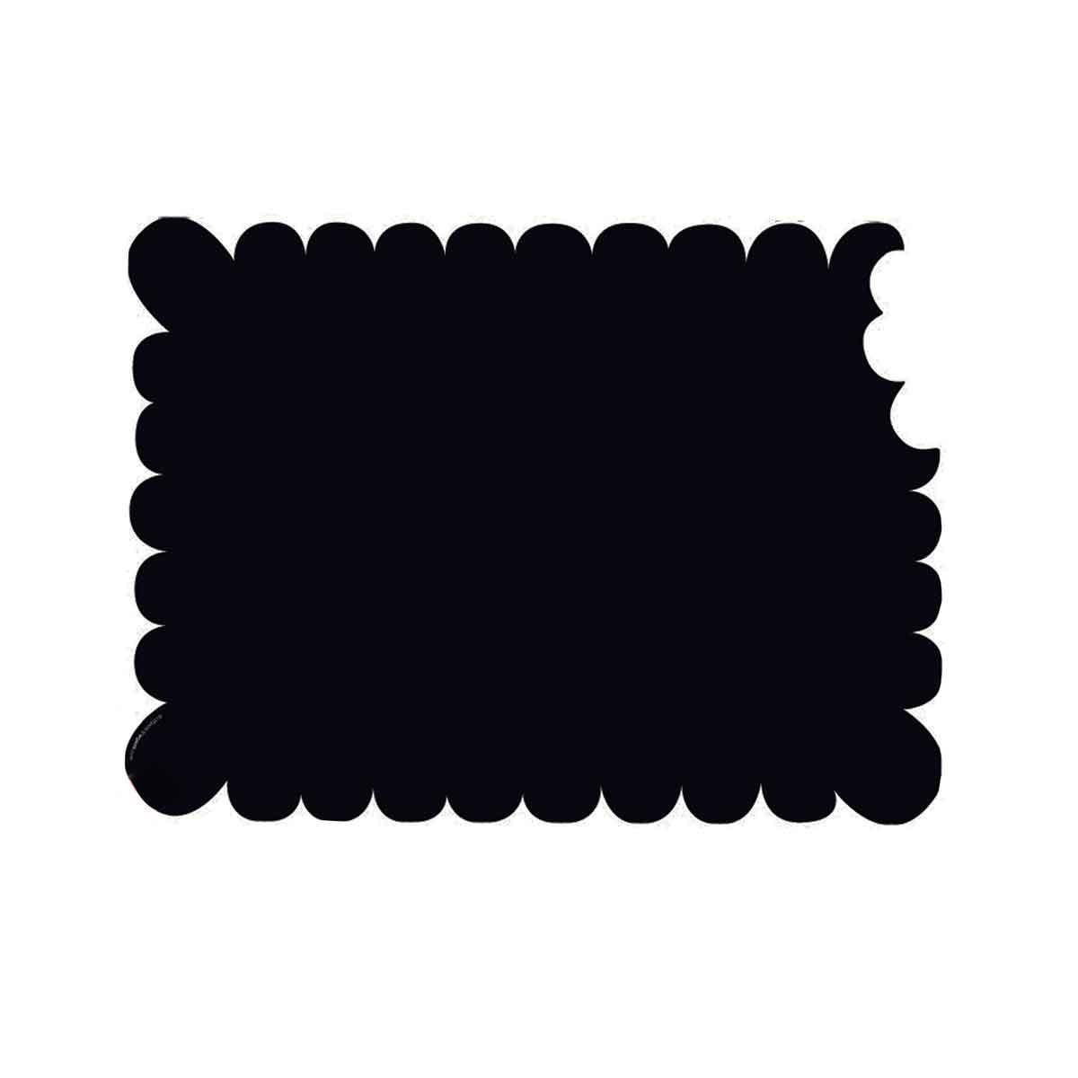 ardoise magn tique pour frigo en forme de biscuit affichage. Black Bedroom Furniture Sets. Home Design Ideas