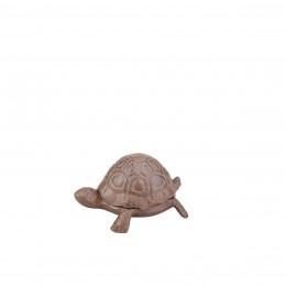 Cache clé tortue en fonte