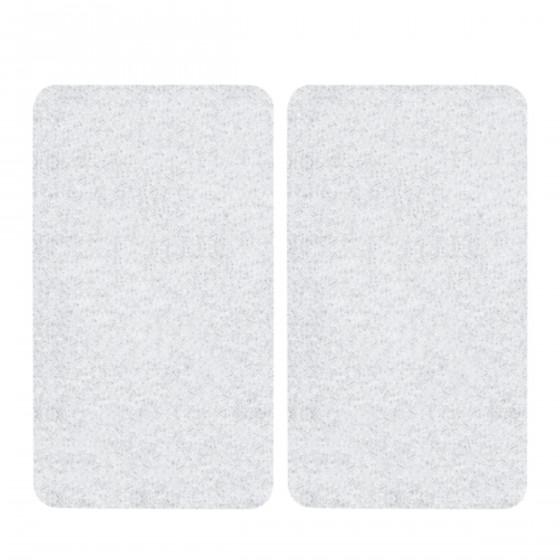 2 couvre plaques de cuisson en verre transparent - Plan de travail plaque cuisson ...