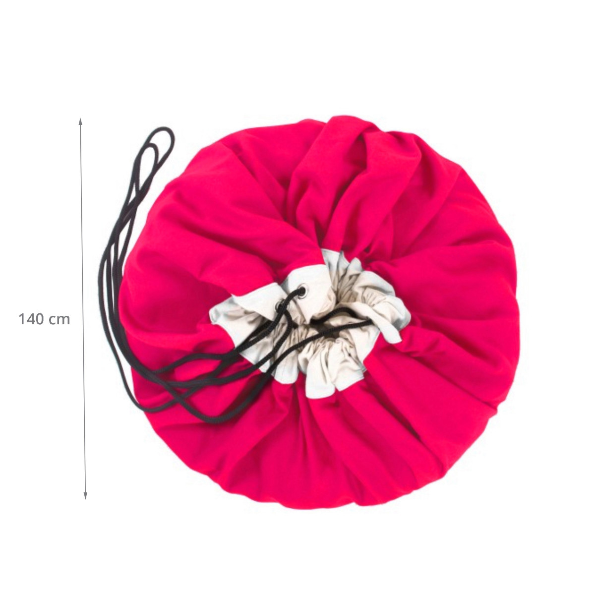 tapis sac jouets rose fuschia. Black Bedroom Furniture Sets. Home Design Ideas