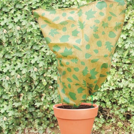 Housse hivernage pour plantes atelier le coin jardinage for Protection plante gel