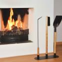 Ustensiles pour feu de cheminée