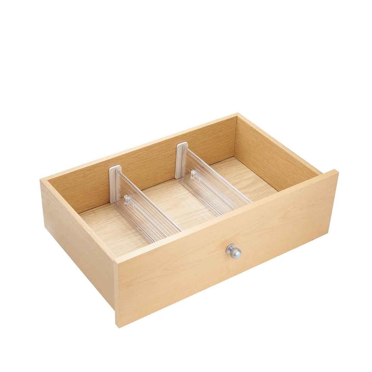 2 organisateurs extensibles de tiroir rangement. Black Bedroom Furniture Sets. Home Design Ideas