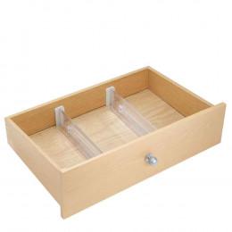 2 séparateurs extensibles de tiroir bas