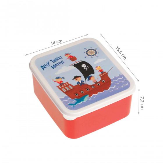 Lunch box pirate