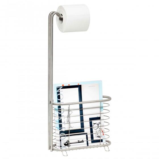 serviteur wc en inox rangement toilettes. Black Bedroom Furniture Sets. Home Design Ideas