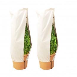 2 Housses de protection pour plante. Taille M