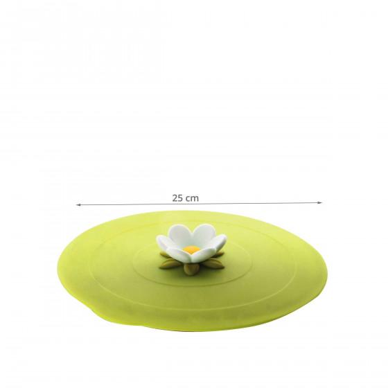 Couvercle en silicone vert M