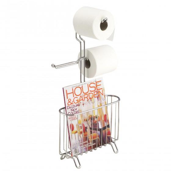 porte revue r serve de papier toilette accessoire wc. Black Bedroom Furniture Sets. Home Design Ideas