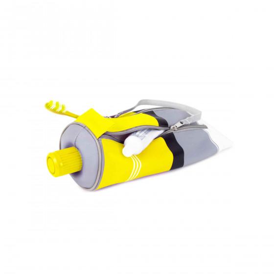 Trousse jaune rangement crayons for Forme peinture