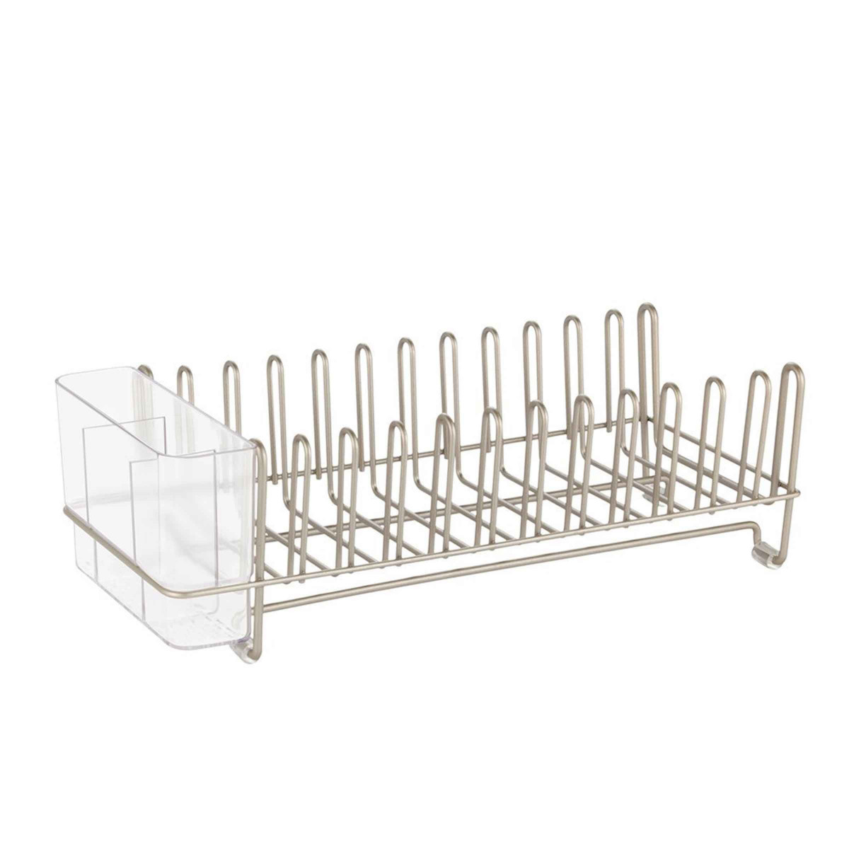 Egouttoir à vaisselle compact - 12 assiettes et couverts