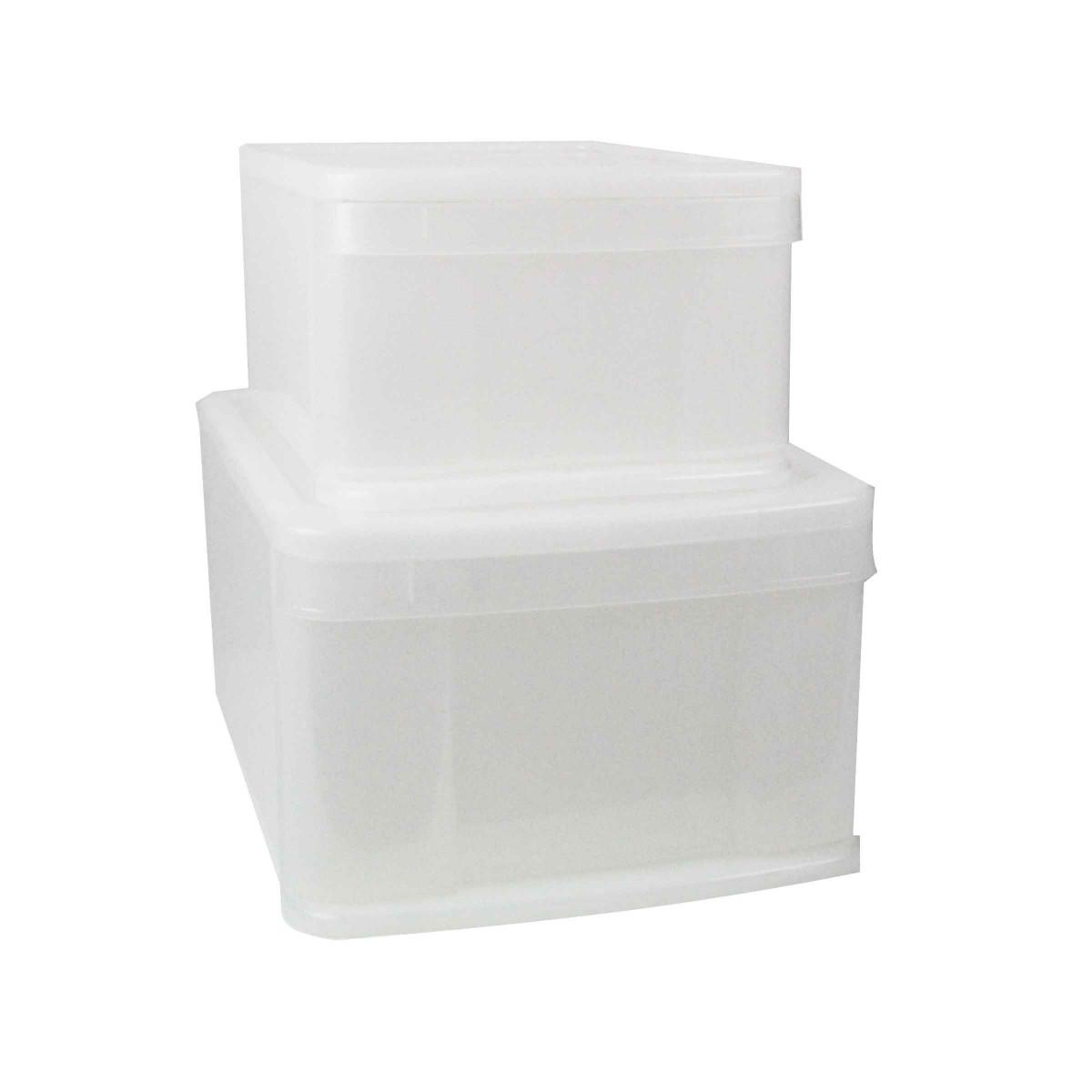Bo te tiroir en plastique rangement - Boite de rangement plastique enfant ...