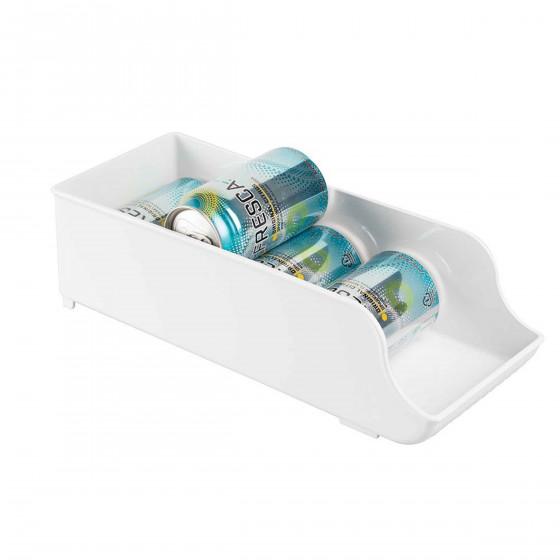 bo te de rangement pour 9 canettes plastique blanc. Black Bedroom Furniture Sets. Home Design Ideas