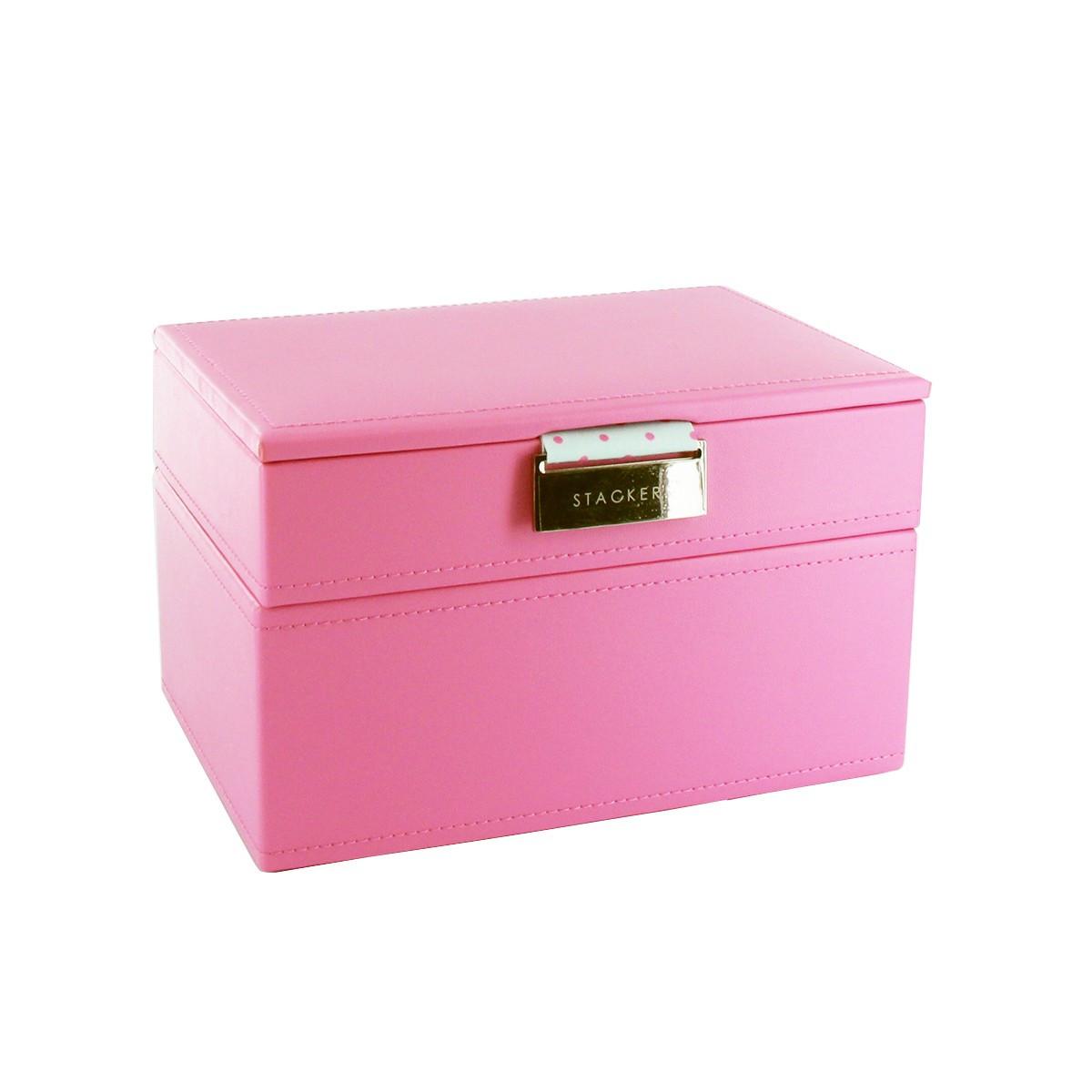 bo te bijoux rose bonbon enfant rangement. Black Bedroom Furniture Sets. Home Design Ideas