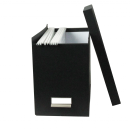 Boîte de classement à dossiers suspendus  gris anthracite