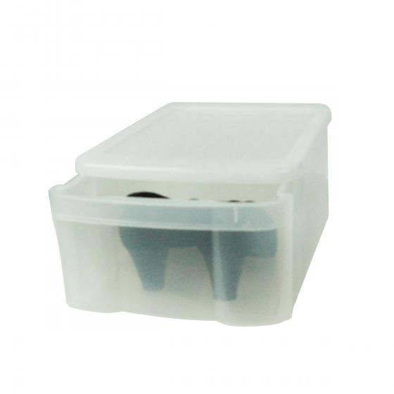 Grande bo te tiroir translucide pour chaussures - Boite acrylique transparente ...