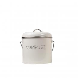 Poubelle compost seau 3 litres poubelle de cuisine - Seau a compost pour cuisine ...