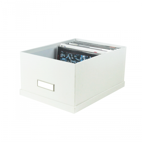 Boite A Dvd Carton Blanc Rangement