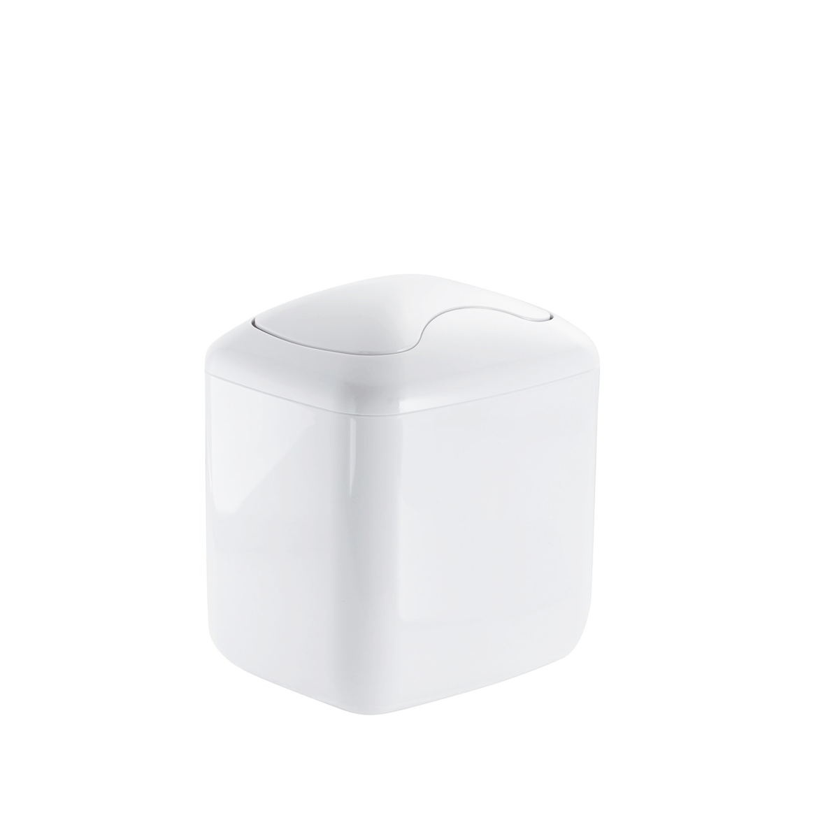 Mini poubelle 2 7 litres salle de bain for Poubelle salle de bain originale