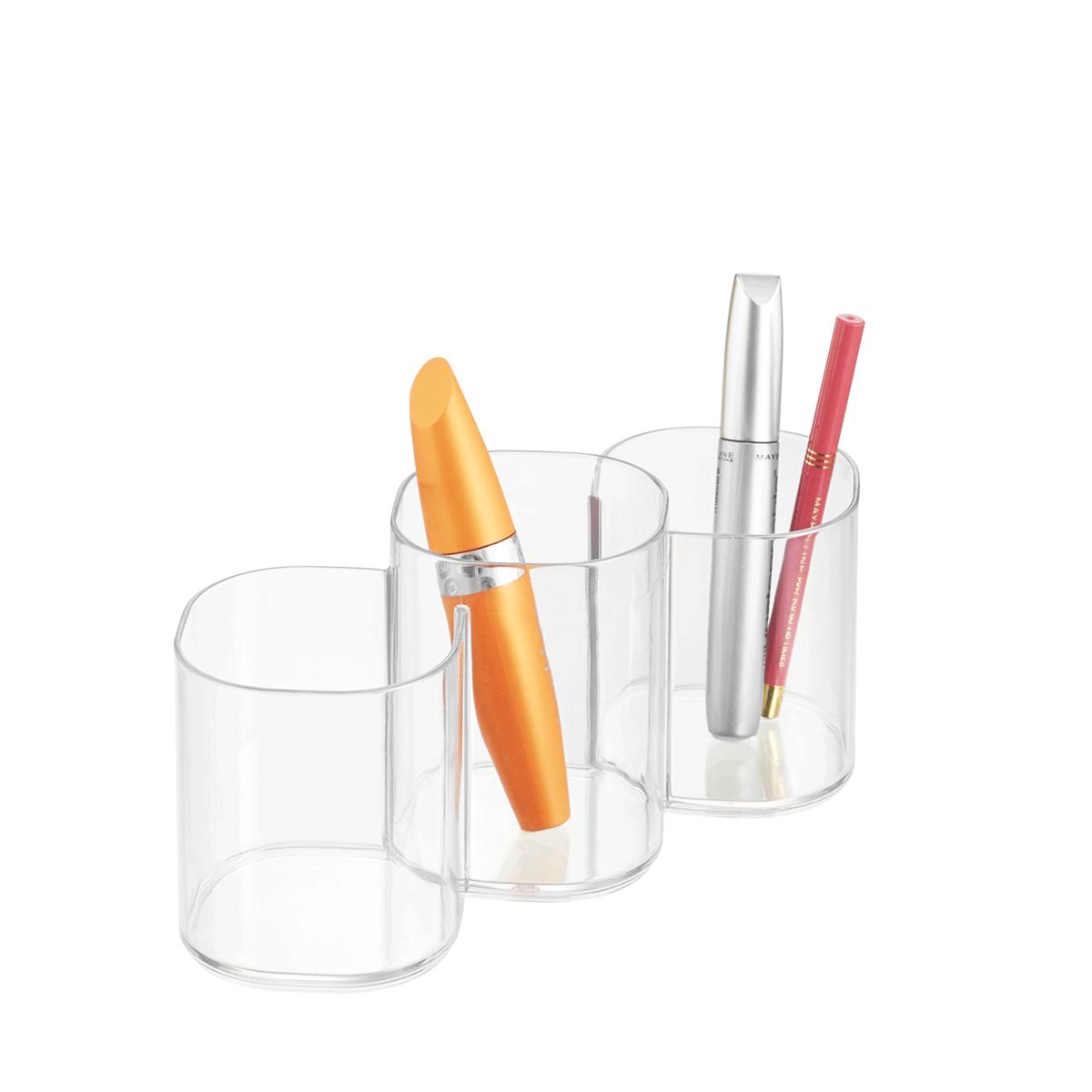 Pots de rangement maquillage acrylique - Rangement acrylique maquillage ...