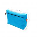Trousse de toilette bleue turquoise