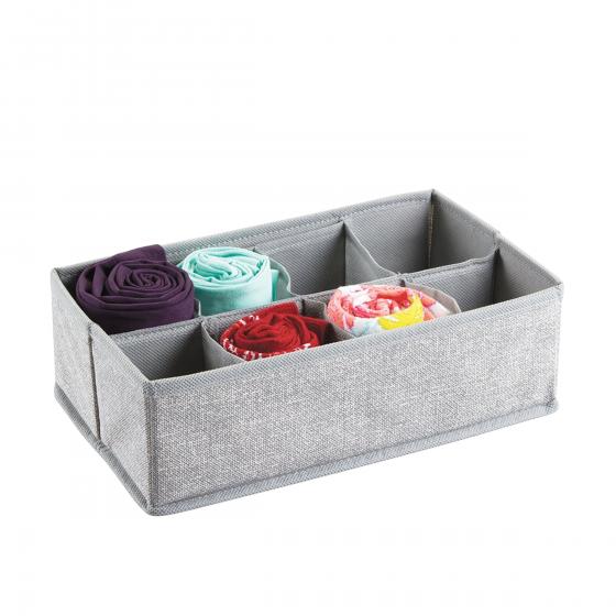 rangement en tissu 8 compartiments. Black Bedroom Furniture Sets. Home Design Ideas