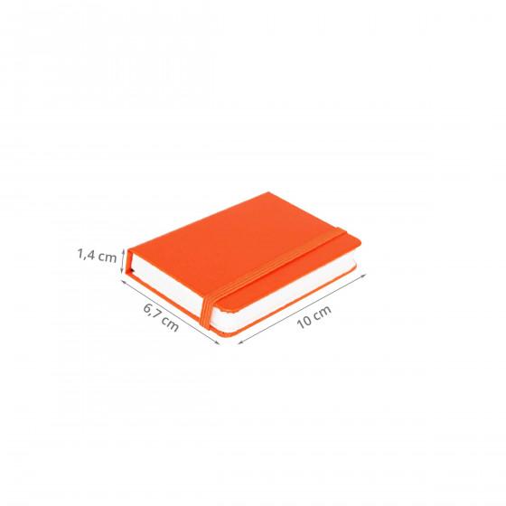 Etui à cartes de visite orange