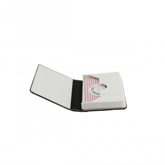 Porte cartes de visite kaki