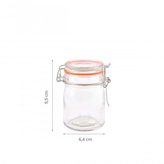 Petit bocal en verre 0,16 litre