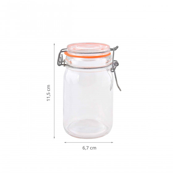 Pot en verre 0,23 litre