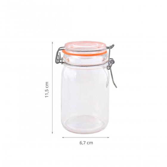Pot hermétique. 0,23 Litre
