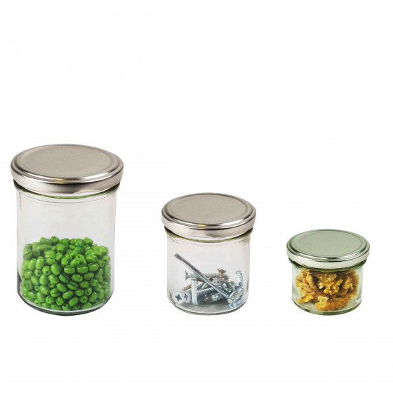 Mini pot en verre 125ml