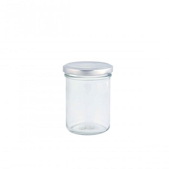 Bocal en verre avec couvercle à visser 200 ml