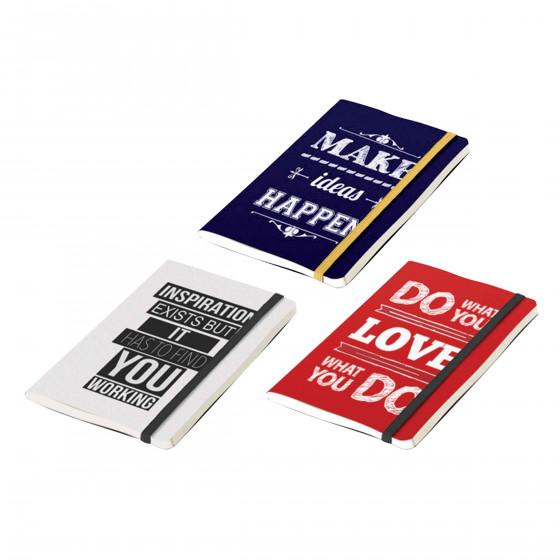 Carnet de notes rouge