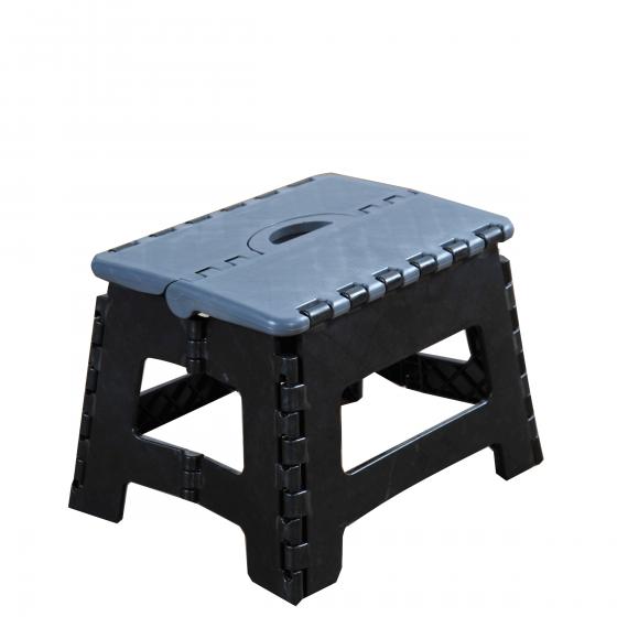 marchepied pliant noir. Black Bedroom Furniture Sets. Home Design Ideas