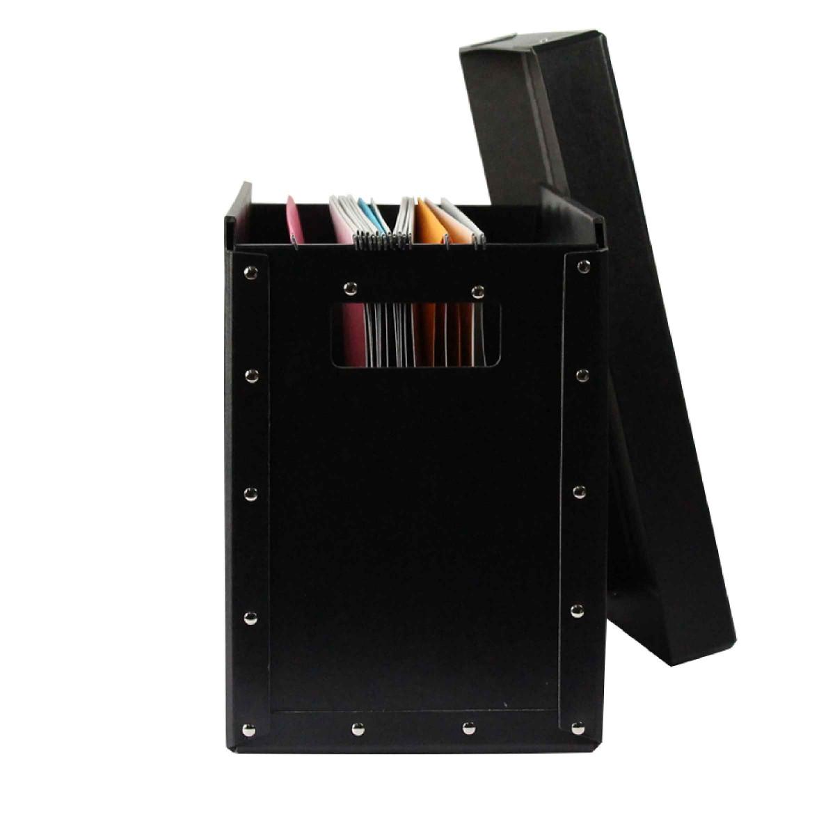 bo te noire dossiers suspendus rangement bureau. Black Bedroom Furniture Sets. Home Design Ideas